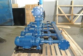 Станция водоснабжения 5 насосов