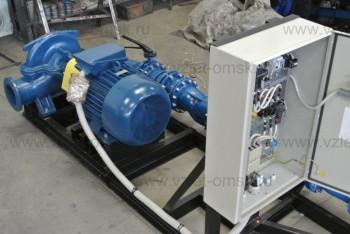 Насосная станция водоснабжения со шкафом управления