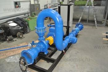Одно-насосная станция водоснабжения