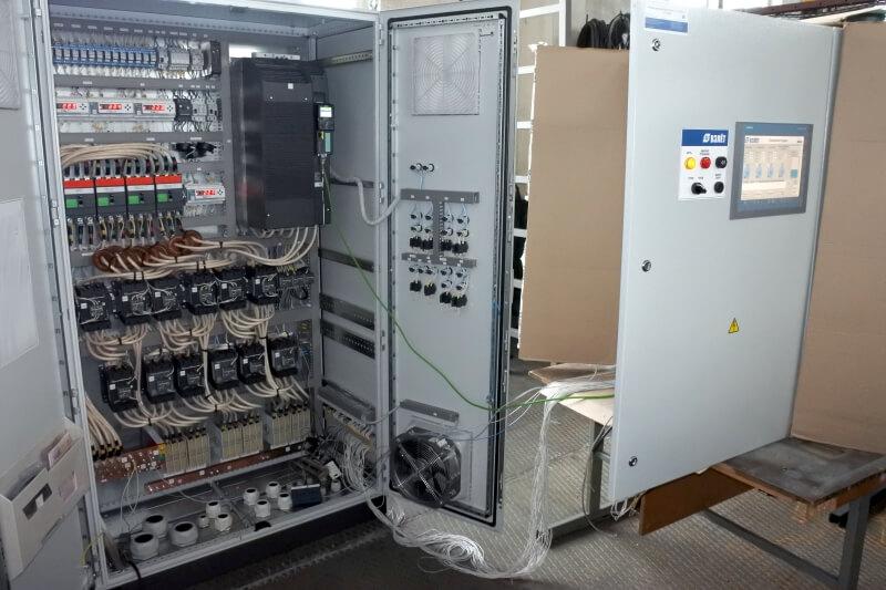 Фотография шкафа управления ПНС