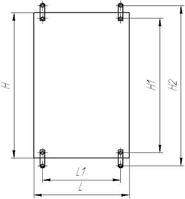 Размеры крепления навесного шкафа