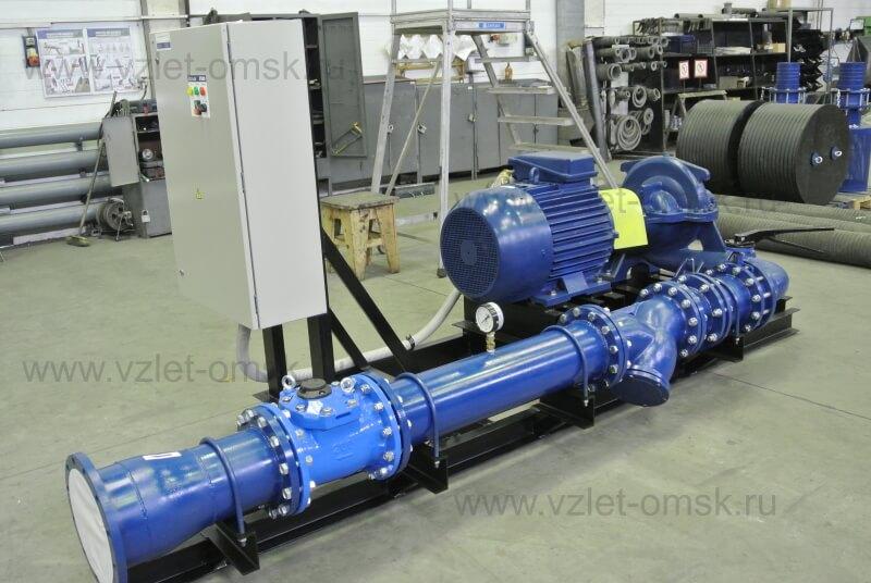 Водопроводная насосная станция с насосом Д