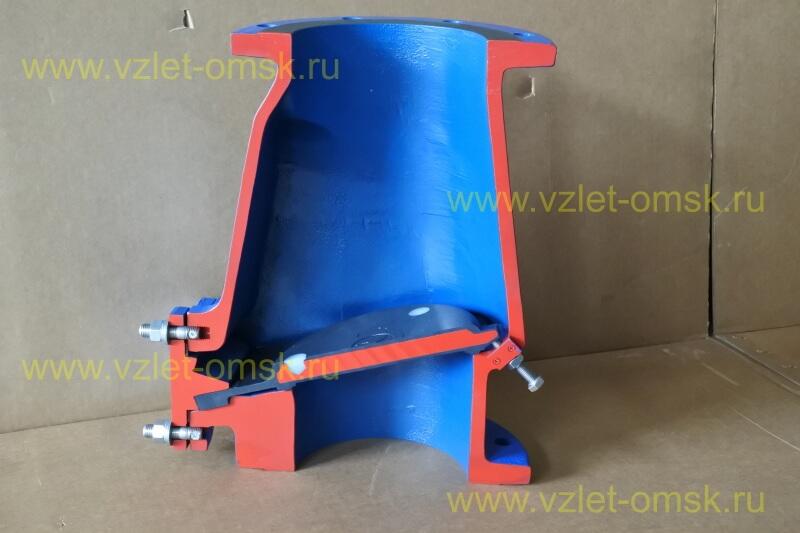 Макет клапана КСВ Ду150 Ру10 в закрытом состоянии