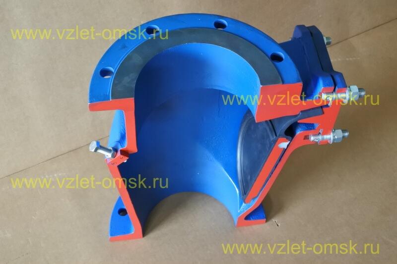 Макет клапана КСВ Ду250 Ру10 в открытом состоянии