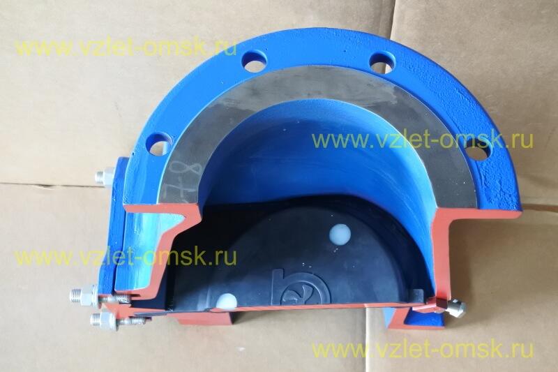 Макет клапана КСВ Ду250 Ру10 в закрытом состоянии