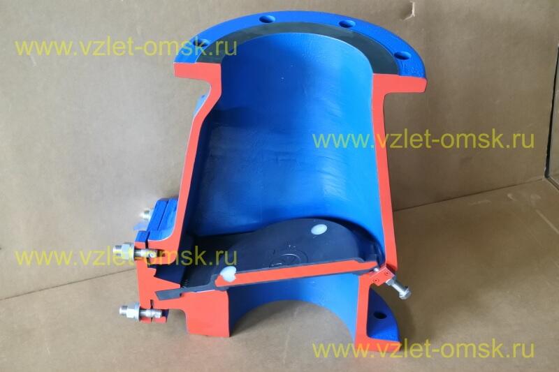 Макет клапана КСВ Ду300 Ру10 в закрытом состоянии