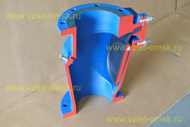 Макет клапана КСВ Ду600 Ру10 в открытом состоянии